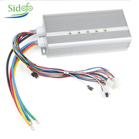 BLDC 42V 72V 3000W Electric Motor 24 Mosfet 50A Controller Electric Scooter E bike Engine Motorcycle Brushless Motor Kit