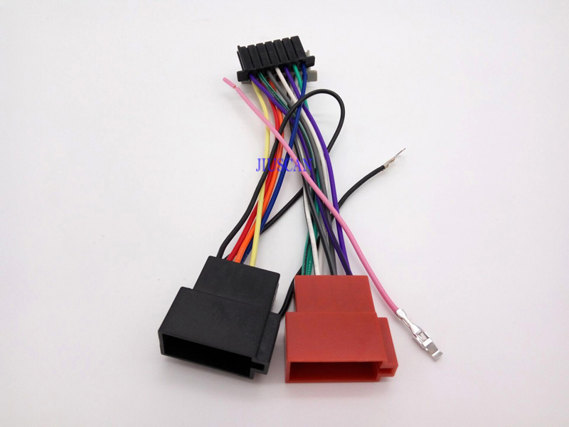 iso car audio video wiring harness for chrysler dodge jeep 16 pin to 1955 chrysler wiring diagram iso car audio video wiring harness for chrysler dodge jeep 16 pin to iso lead wiring loom power adaptor wire radio connector in gps accessories from