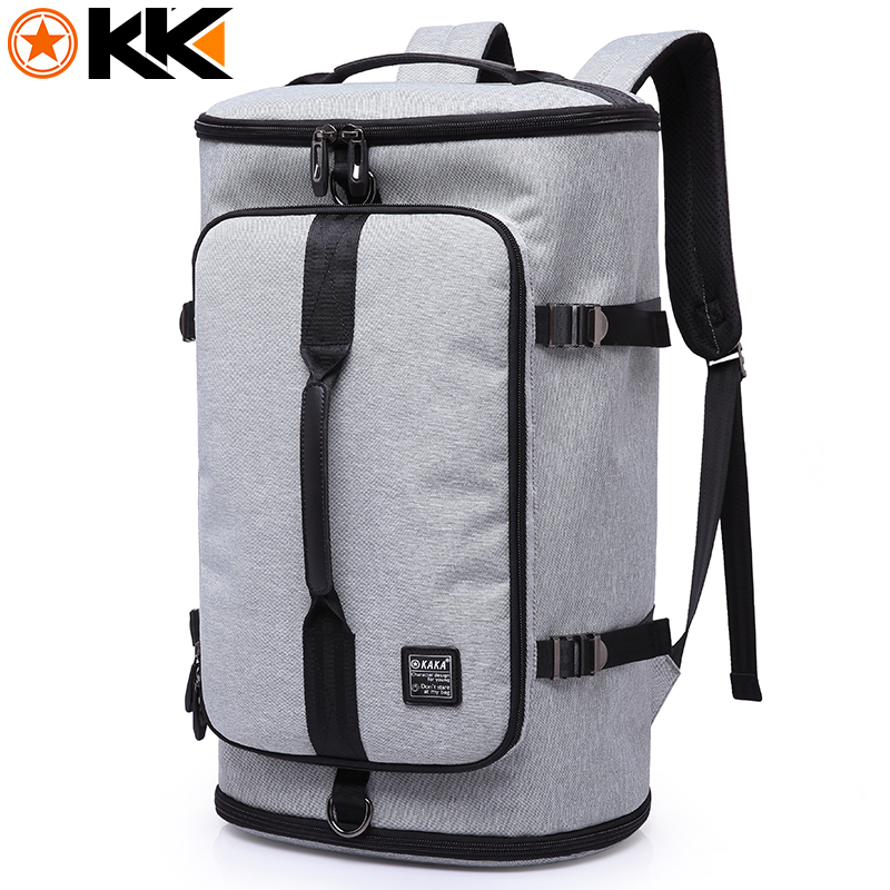 KAKA 17 Inches Laptop Backpack Large Capacity Travel Bag For Teenagers School Bags Nylon Waterproof Computer Backpacks 2017 New large 14 15 inch notebook backpack men s travel backpack waterproof nylon school bags for teenagers casual shoulder male bag