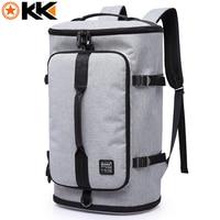 KAKA Large Capacity Men 17 Laptop Backpack Multifunction Anti Theft Travel Bags Oxford School Bag Waterproof