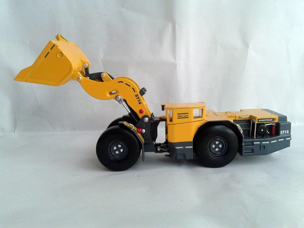 NEW JOAL 280 1 50 Atlas Copco Scooptram ST14 Underground Mining Loder toy