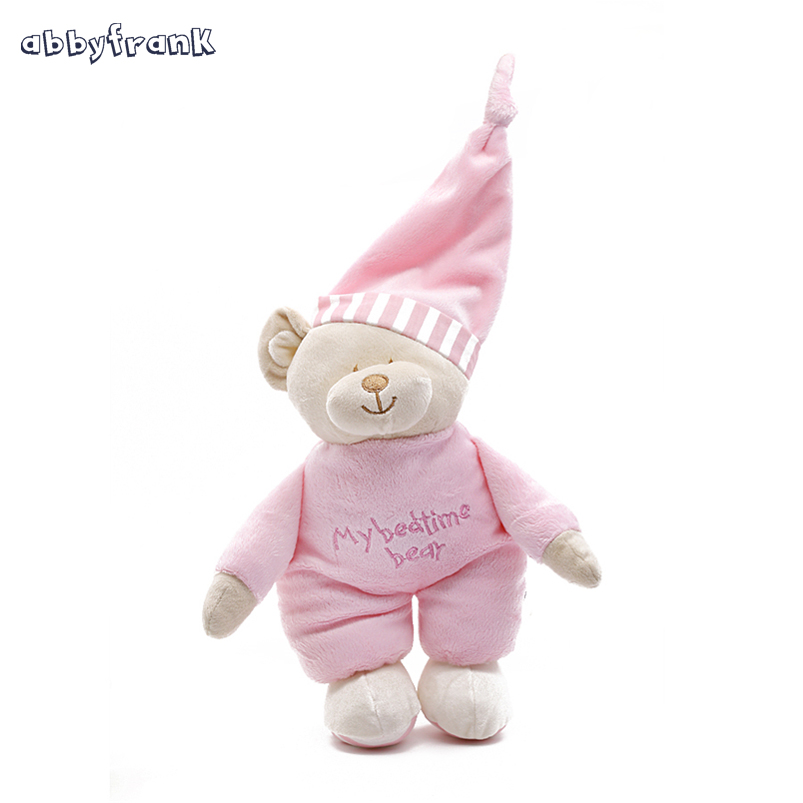 Abbyfrank Kawaii Teddy Bear Stuffed Toys Stuffed Animal Bear Plush Kawaii Plush Toys Soft Bedtime Sleep Doll Newborn Baby Kids kawaii 140cm fashion stuffed plush doll giant teddy bear tie bear plush teddy doll soft gift for kids birthday toys brinquedos
