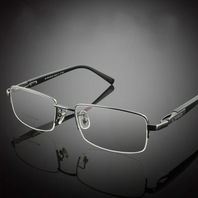 2016 nova s9910 eyewear tr90 100% titanium miopia armações de óculos de leitura confortável slip-resistente meia-aro da armação de óculos quadro