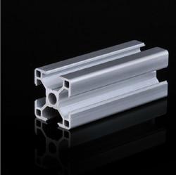 3030 Aluminium Profil Extrusion De Tuyaux grade 6063 L = 500mm Livraison gratuite Toutes Les Tailles en Stock