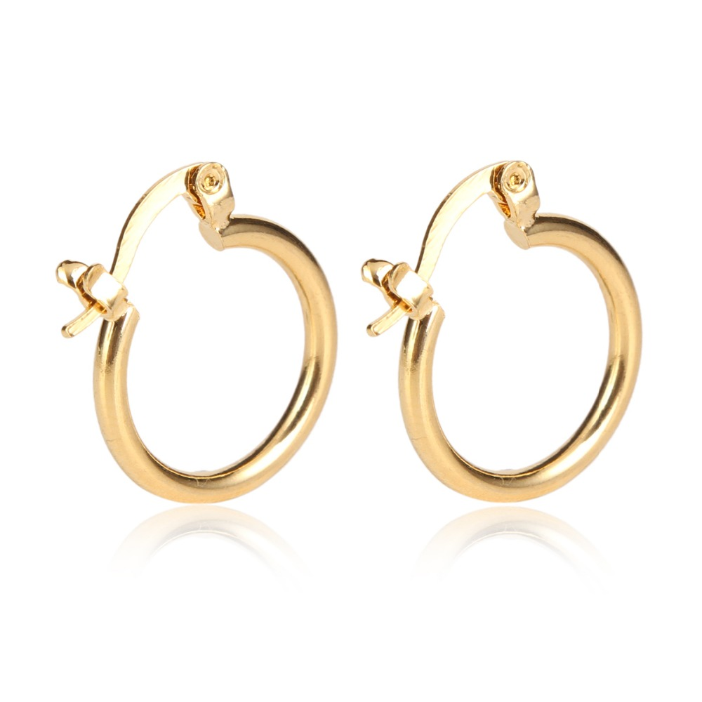 24k Gold Earrings New Arrival New Model High Quality Pretty Golden Jewelry  Earrings(china (