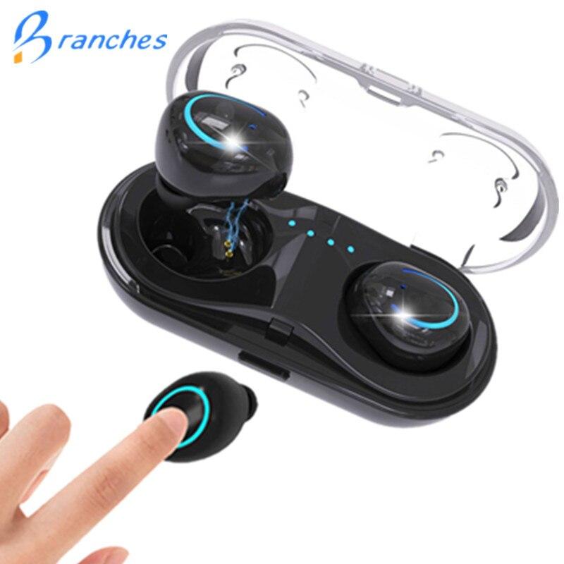 HBQ Q18 TWS Drahtlose Bluetooth Kopfhörer Wireles In-ohr Kopfhörer Stereo Ohrhörer Sport Headset Mit Mic Für iphone smart phone