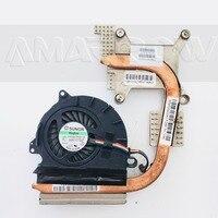 Original pour HP 8440P 8440W radiateur de refroidissement avec ventilateur 592951-002 592950-001
