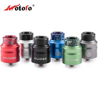 New Arrival Electronic Cigarette Atomizer Original Wotofo Nudge BF RDA 24mm vape Tank Large Capacity for NUDGE BOX 510 MOD