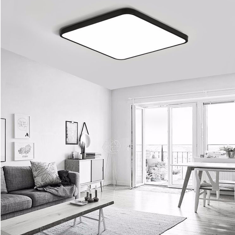 ultra-thin LED Square ceiling lighting Panel Lamp Lighting for the living room Ceiling for the hall modern ceiling lamp high 5cmultra-thin LED Square ceiling lighting Panel Lamp Lighting for the living room Ceiling for the hall modern ceiling lamp high 5cm