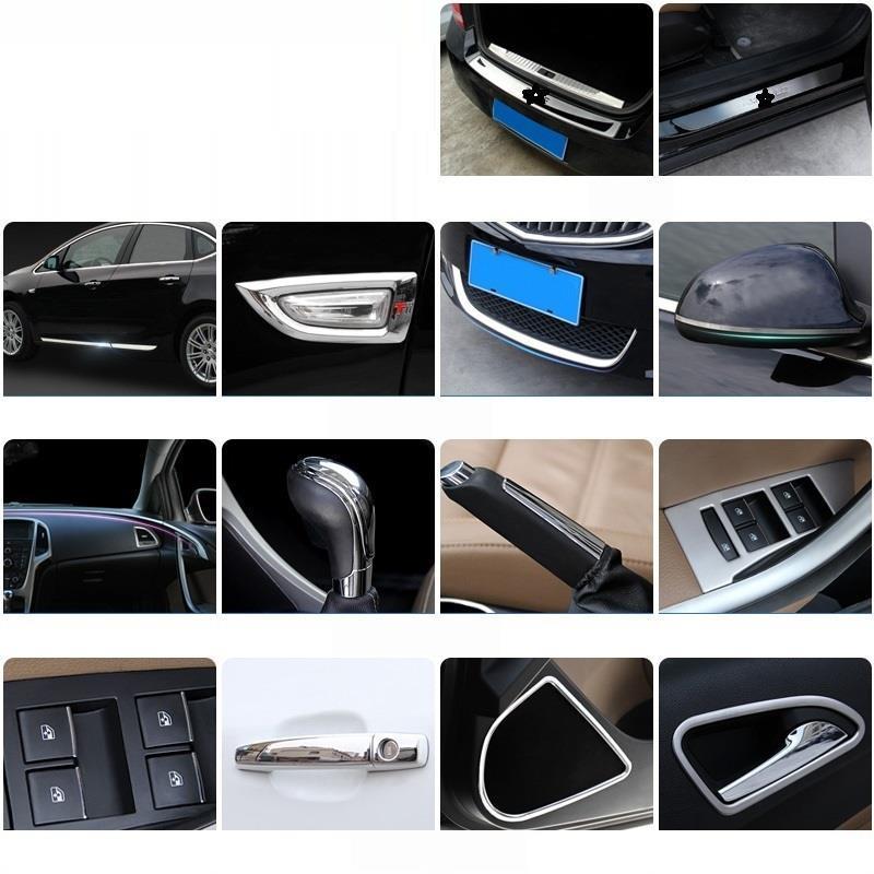 Porte pied pédale Automobile Auto décorative voiture style accessoire décoration Protecter 15 16 17 18 19 pour Buick Excelle GT - 6