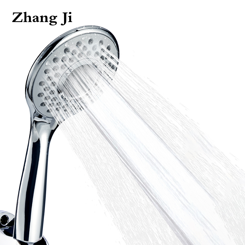 Zhang Ji 3 Modes Pressure Boost Shower head Bathroom Accessories Handheld ABS Plastic Shower Nozzle Filter 10.8 cm Shower Heads