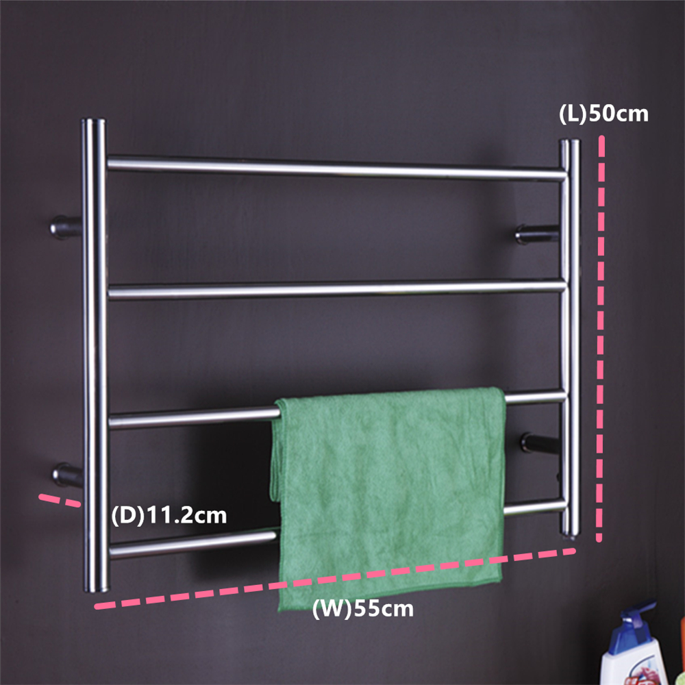 1pc Heated Towel Rail Holder Bathroom Accessories Towel: Aliexpress.com : Buy Free Shipping Stainless Steel Wall