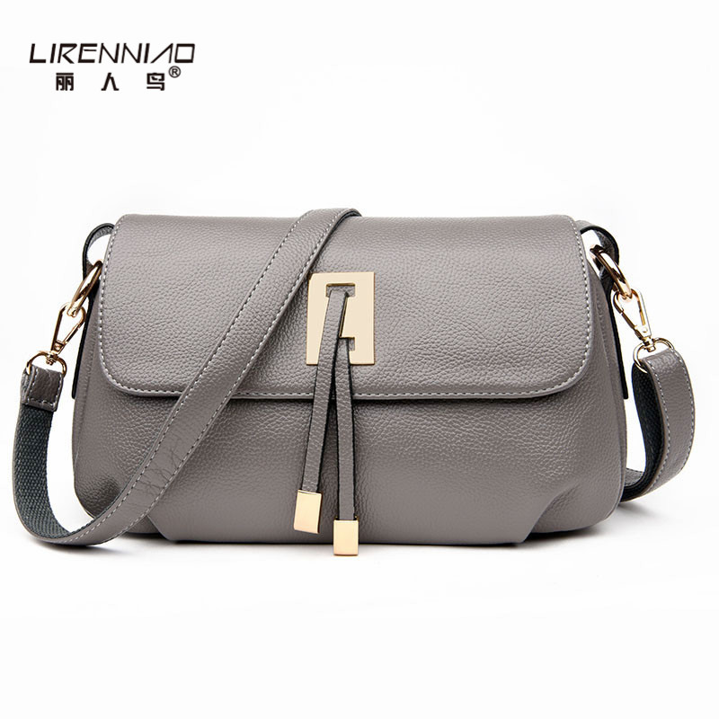 LIRENNIAO Brand Women Messenger Bags Leather Handbag Small Crossbody Bag Women Designer Purses and Handbags for Summer 2015 fashion classic woolen handbag small fragrant wind colorful plaid shoulder bag crossbody bags for women purses and handbags