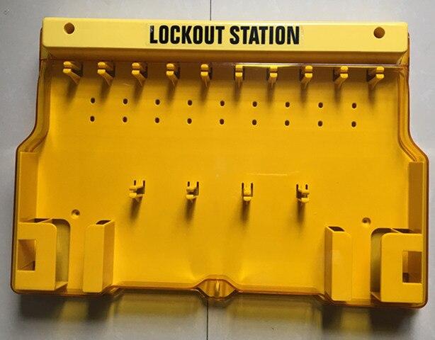 5 pcs/lot tableau de verrouillage de la Station de verrouillage de la visibilité mécanique non remplie