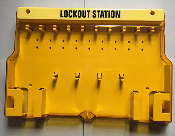 5pcs/lot UNFILLED Mechanical visibility Lockout Station lockout board lock station board5pcs/lot UNFILLED Mechanical visibility Lockout Station lockout board lock station board