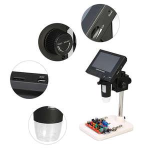 Image 5 - Usb Microscopio Elettronico Digitale 1000x2.0mp Dm4 Display Lcd Da 4.3 Pollici Vga Microscopio Stand Con 8 Led Per pcb Circuito di Motherb