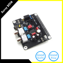 Cheapest prices Raspberry Pi 3 HIFI DAC Audio Sound Card Module I2S Interface Card Module Expansion Board for Raspberry Pi 2
