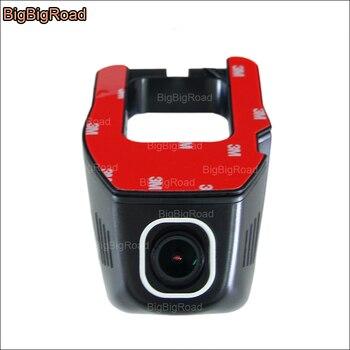 BigBigRoad For Toyota Camry Car Wifi DVR Video Recorder Hidden installation Novatek 96655 FHD 1080P car Dash Cam
