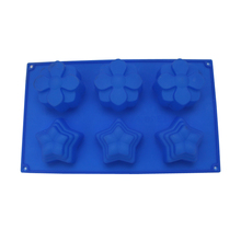 Flower Silicone Soap Mold for Soap Making Chocolate Candy Cake Baking Mould DIY Cakes Decorating Tools цена и фото