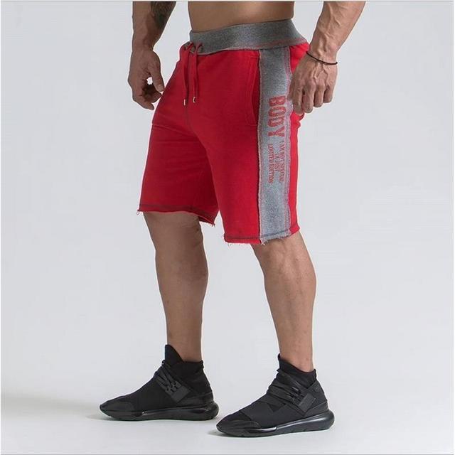 db52b9b95fac2 Fitness Korte Broek Heren.Vergelijken 2018 Hoge Kwaliteit Shorts Heren Merk Gym  Fitness