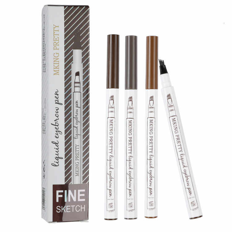 New Eye Brow Tint Cosmetics Natural Long Lasting Paint Tattoo Eyebrow Waterproof Black Brown Eyebrow Pencil Makeup