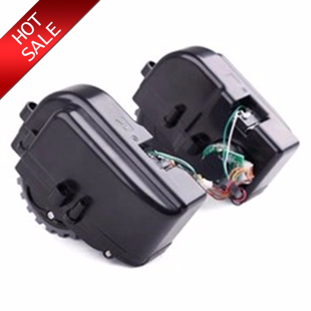 2pcs/lot Right & Left wheel motor For PANDA x500 ECOVACS CR120 CEN546 CEN540 vacuum cleaner replacement wheel accessories parts