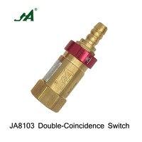 JA 8103 Security Magnetic Valve over flow gas valve over flow cut valve