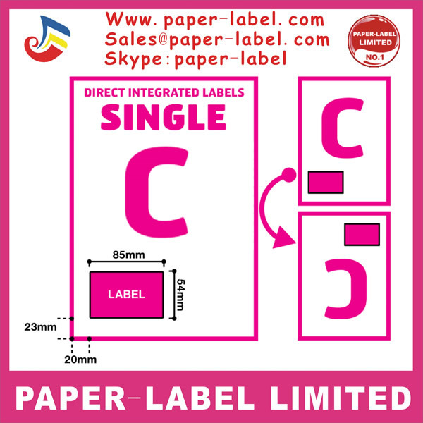 US $350 0 |6500 pcs A4 Half Sheet Self Adhesive A4 Shipping Labels sticker  label paper for laser printer and Inkjet Printers ใน 6500 pcs A4 Half