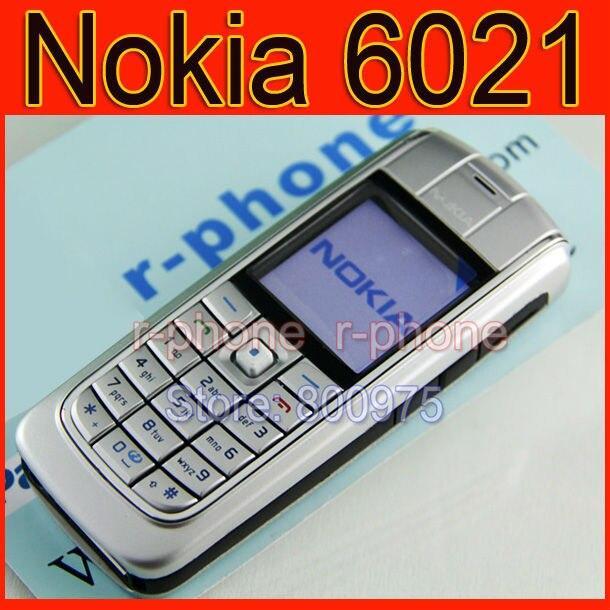 Оригинальный Nokia 6021 мобильный телефон Разблокирована Восстановленное  gsm один год warranry