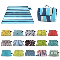 200x200cm Large Waterproof Foldable Outdoor Camping Mat Picnic Beach Blanket New