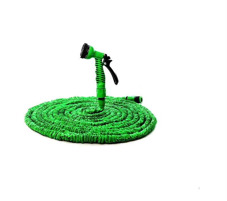 Hot Flexible magique extensible jardin tuyau bobines 150FT tuyau d'eau 7 en 1 pistolet pour jardin voiture arrosage tuyau en plastique 45 M