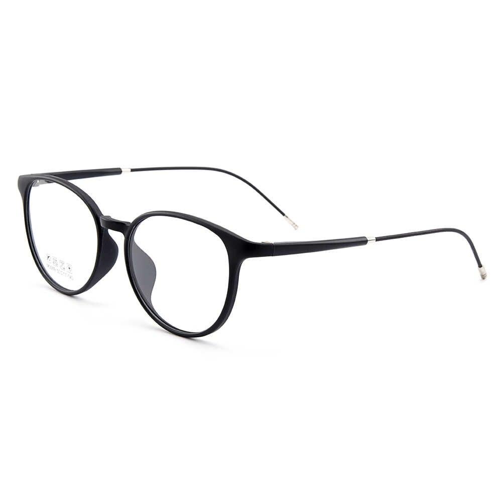 Gmei оптические новые: ультралегкие TR90 Для женщин Круглый Оптическая оправа для очков Для Мужчин's Пластик близорукость очки 5 цветов на выбор M3009