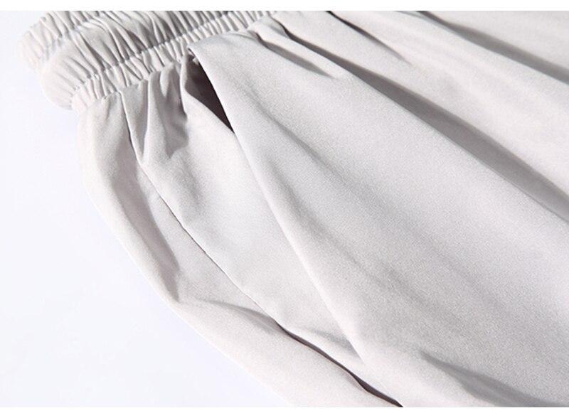 Aolamegs Men Casual Track Pants Splicing Contrast Pants Men Elastic Waist Sweatpants Men High Street Hip Hop Pants Streetwear (14)