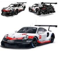Super Racing Car RSR Sets 1770 pcs Compatible with lego building block kits Technic MOC Series Model Building Blocks Toys