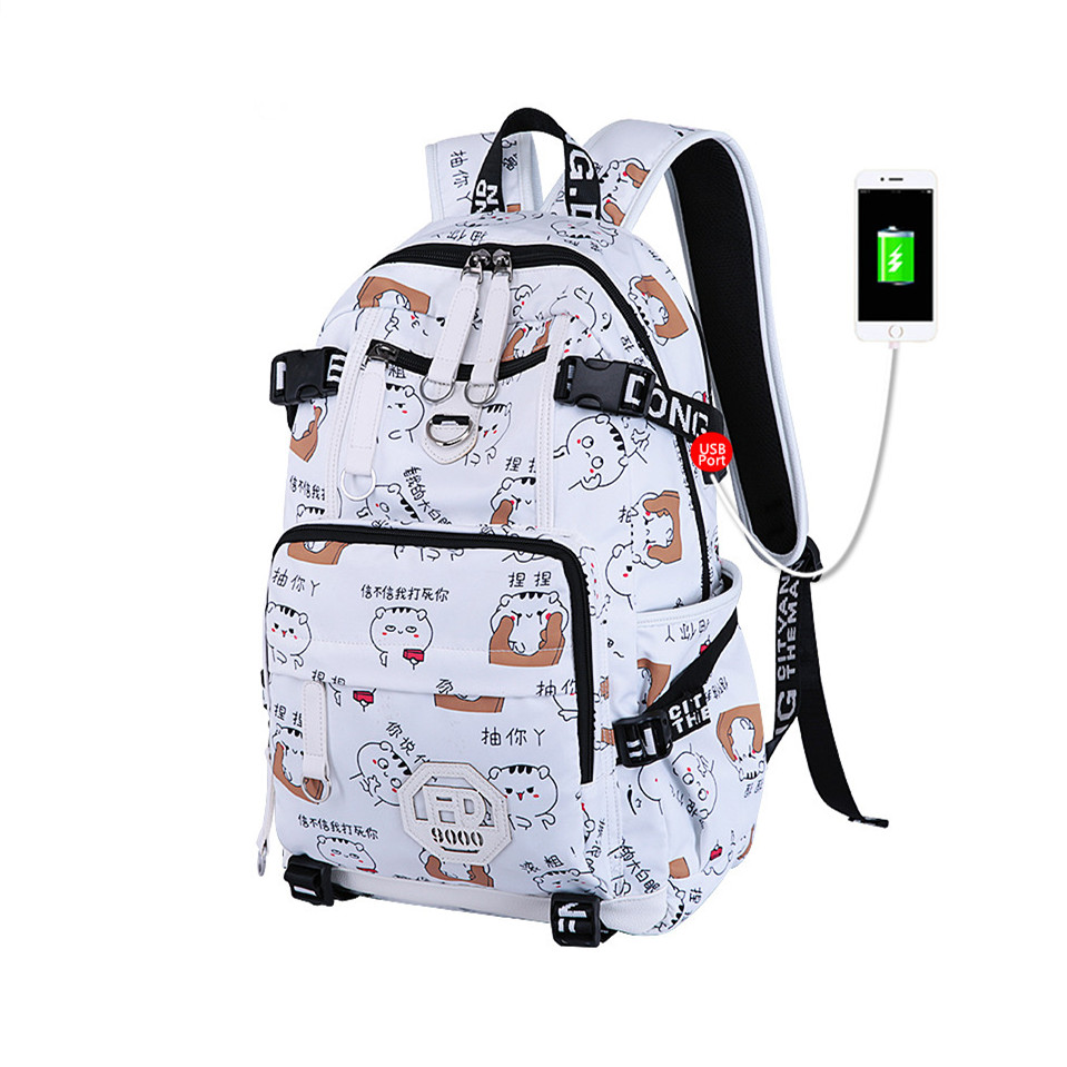 new 2018 backpacks for children school bags for teenage girls schoolbag female big size fashion school backpack laptop bag 15.6