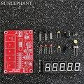 Smart Electronics DIY Комплекты РФ 1 Гц-50 МГц Кварцевый Генератор Счетчик Частоты Метр Цифровой СВЕТОДИОДНЫЙ тестер метр