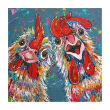 Dpsprue Full Square,Round Drill 5D DIY Diamond Painting rooster Embroidery Cross Stitch Mosaic Home decoration picture Gift BK