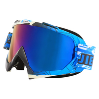 Jiepolly Skiing Skating Glasses Ski Snowboard Goggles Cycling Eyewear Motocross Goggles Anti Wind Dust Proof Bike