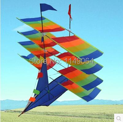 Frete grátis alta qualidade 3D barco de vela pipa com linha punho weifang pipa voando nova projeto de fábrica hcxkite