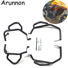 Motorcycle bumper Front Extension Frame & Engine Protector Guard Highway Crash Bar For HONDA CB500X 2013-2018