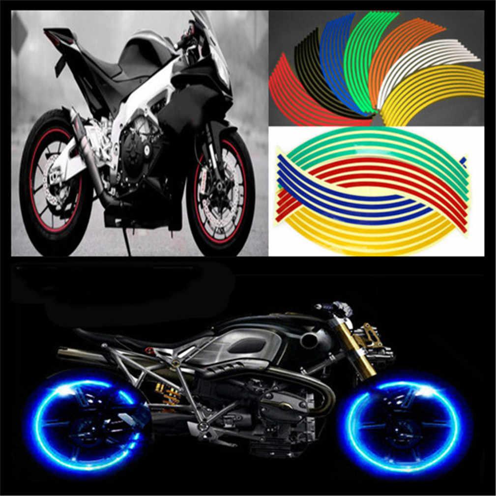 Universal motorbike motorcycle wheel sticker for yamaha xp500 xp 530 fz 600 srx 600 xj 600