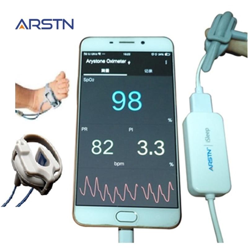1 Sensor Neugeborene Infant Kind Erwachsene Handheld Pulsoximeter Pulsioximetro Für Android-handy Mit Otg Funktion, Schlaf Monitor StäRkung Von Sehnen Und Knochen