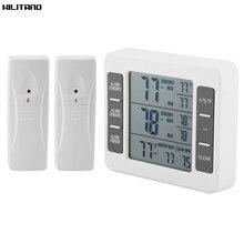 ميزان الحرارة الرقمي مقياس الحرارة محطة الطقس تستر مع اللاسلكية في الهواء الطلق Transmitter0 50C C/Fmaximum دقيقة قيمة العرض