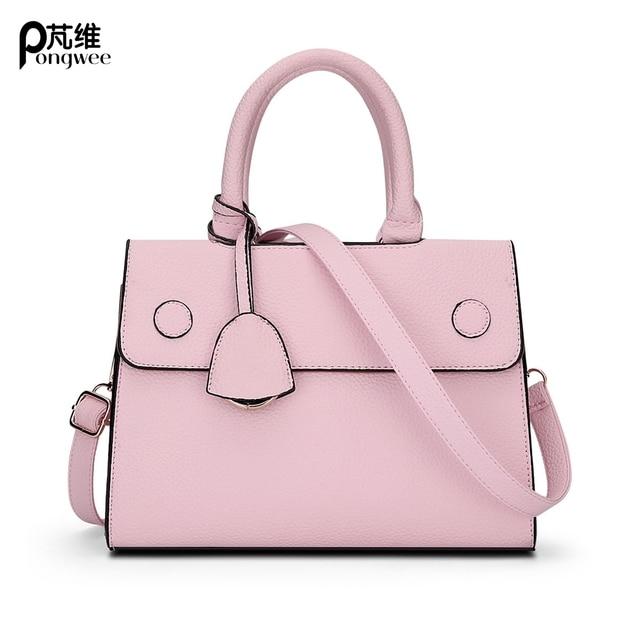 399aca83ae PONG WEE Brand High Quality Mini Crossbody Bag Women Cute Color Messenger  Bags Ladies Fashion Handbags