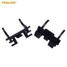 FEELDO 10 шт. H7 светодиодный фары Цоколь для ламп держатели гнезда адаптеров для Ford Focus FIAT Landrover Freelander MK3-MK35#5544