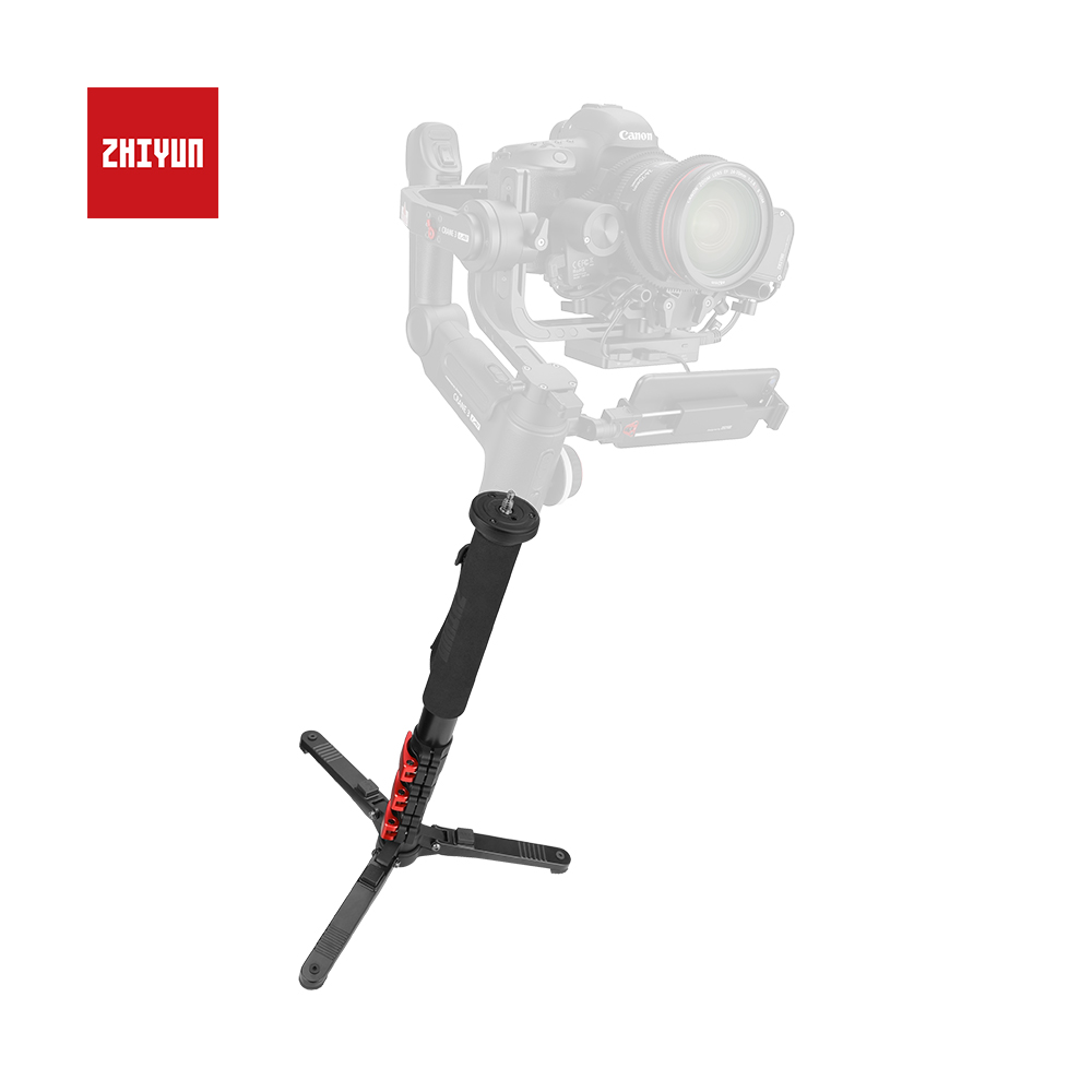 ZHIYUN Official Telescopic Monopod with Locking Buckle for Crane3 Lab Weebill Lab Stabilizer Accessories with 1