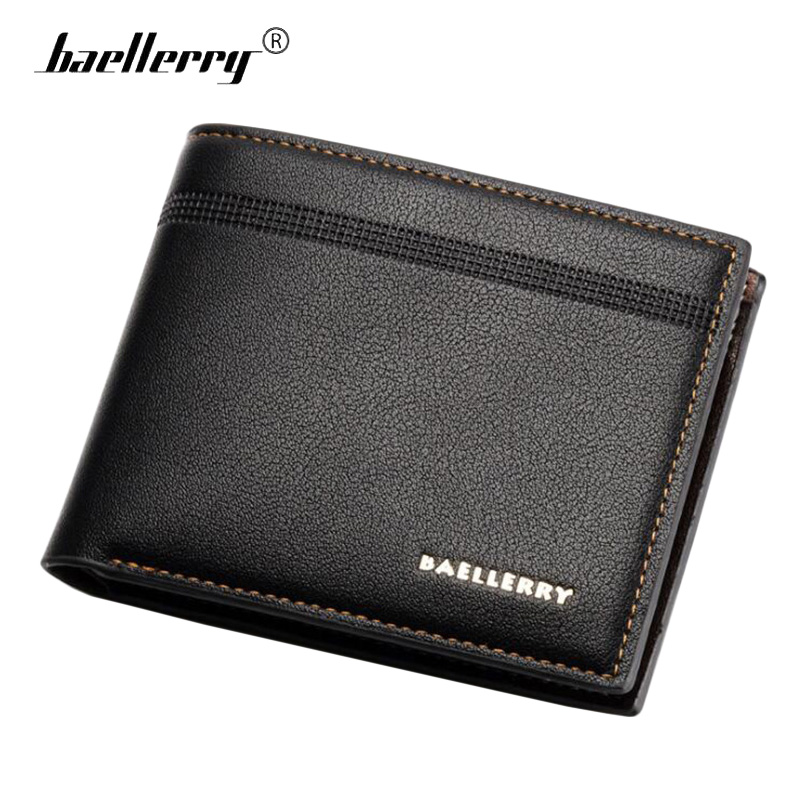 Baellerry Embossed Men Wallets Short Male Purse PU Leather Vallet Small Card Holder Trifold Wallet Men Clutch Slim Money BagBaellerry Embossed Men Wallets Short Male Purse PU Leather Vallet Small Card Holder Trifold Wallet Men Clutch Slim Money Bag