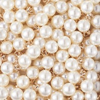 pandahall 150/180pcs Pearl White Beads Plastic Imitation Pearl Beads for Jewelry Making Pendants necklace bracelet Wholesale F80