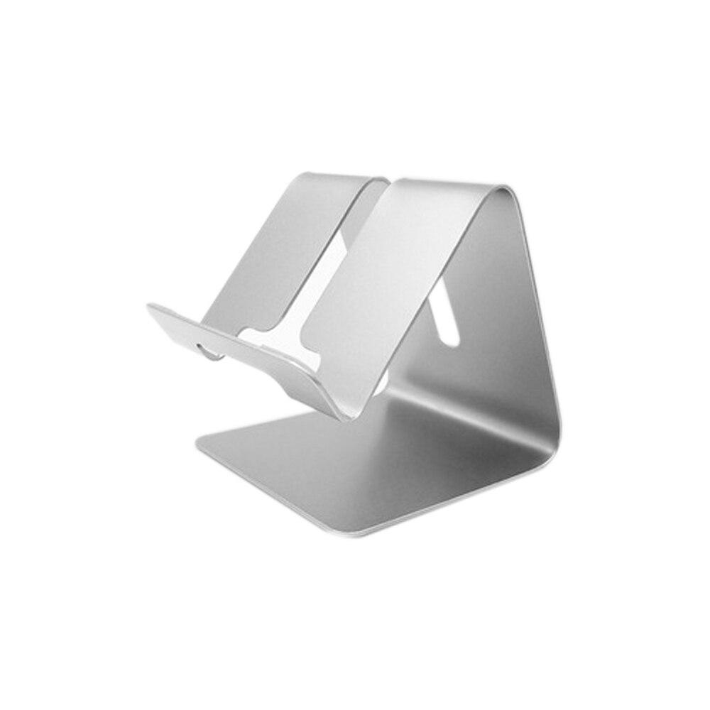 BBGear Desktop Phone Holder Aluminum Metal Mobile Phone Holders Universal Non-slip Mount Hold Braket for iPhone Samsung Tablet