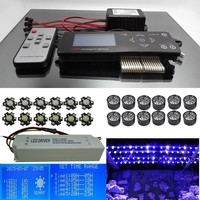 Wireless Dimmable Sunset Sunrise 90W Led Aquarium Light with controller and timmer Full Spectrum for Marine Growth Tank Light